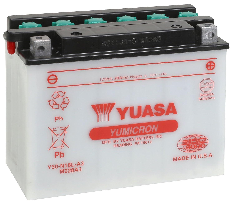 Yuasa YUAM228A3 Y50-N18L-A3 Battery