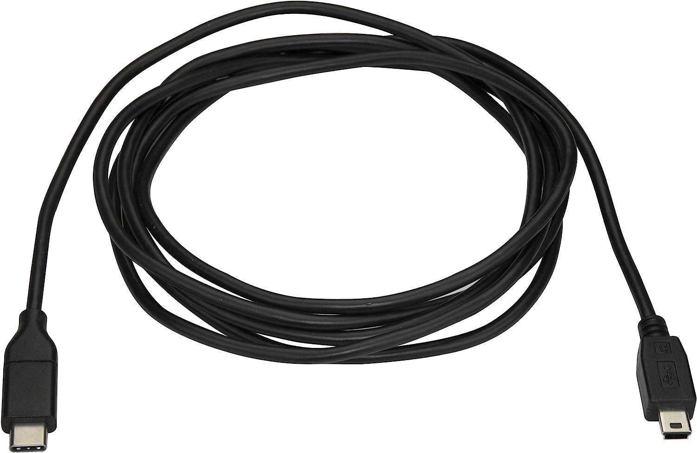 M//M USB2CMB2M USB 2.0 Mini USB Cord ,Black USB Type C to Mini USB StarTech.com USB C to Mini USB Cable 6 ft // 2m USB C to Mini B Cable
