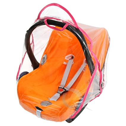 Rain Cover To Fit Maxi-Cosi cabriofix /& pebble rain cover Fast Dispatch New VENTILATED baby pink