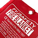 Emergency survival Fiberglass Fire Blanket Shelter