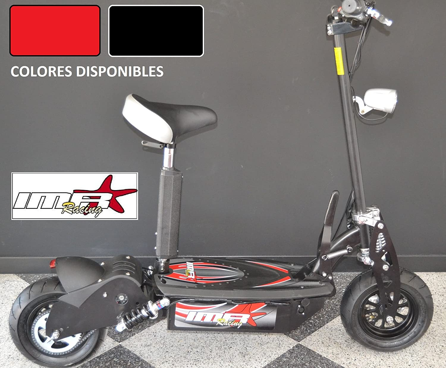 PATINETE ELECTRICO IMR-RACING 1600W 48V BRUSHLESS: Amazon.es ...