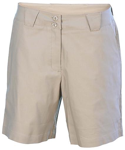 4c9c277d964b Buy NIKE Women s Coaches Flat Front Chino Golf Shorts-Beige-Size 18 ...