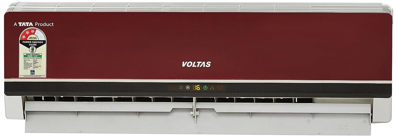 Voltas 1 Ton 3 Star Split AC (Copper, 123 PZY-R, Red)