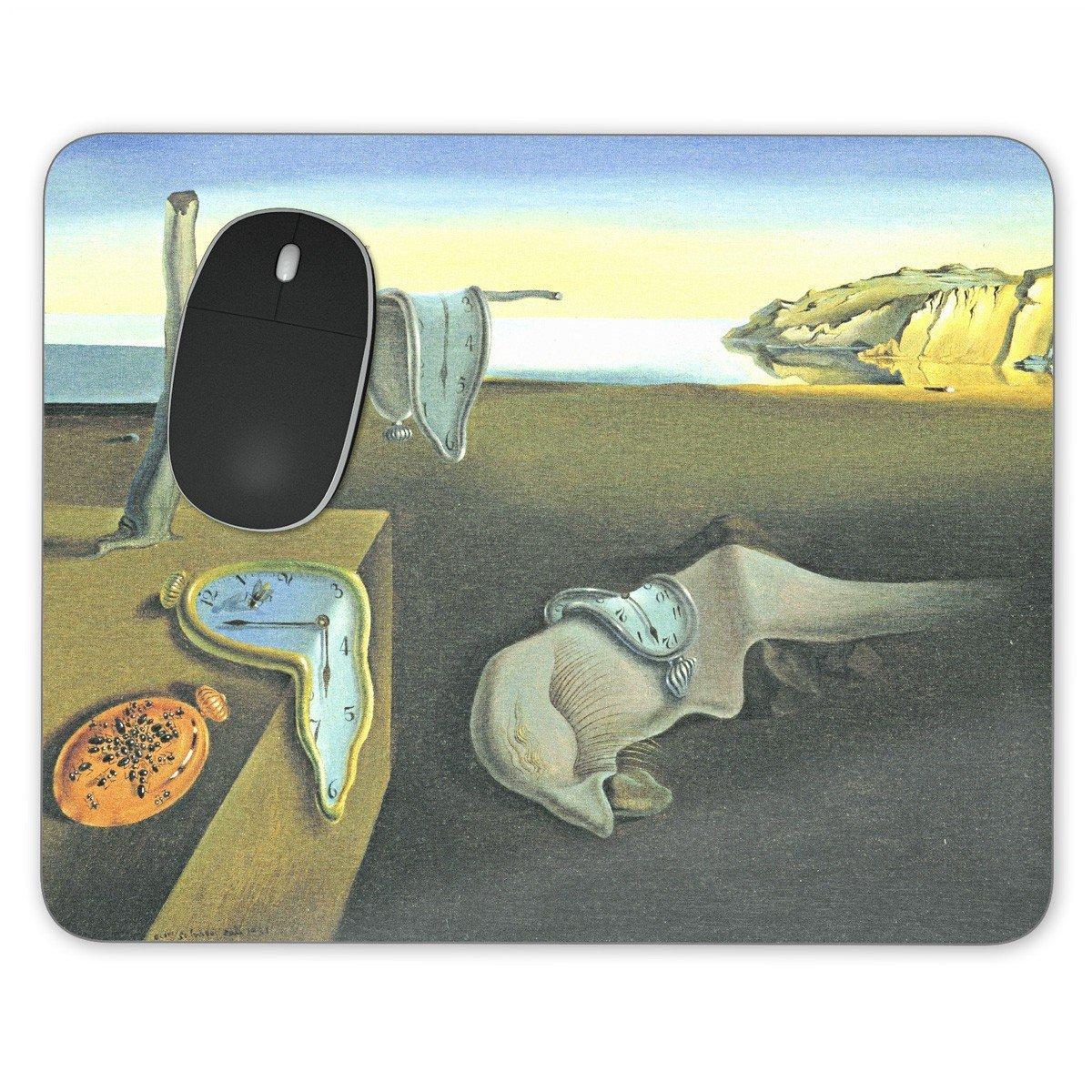 Relojes de fusión Salvador Dalí Fine Art Mousepad - neopreno para ópticas y ratón láser, multicolor, Rectangle Mousepad: Amazon.es: Oficina y papelería