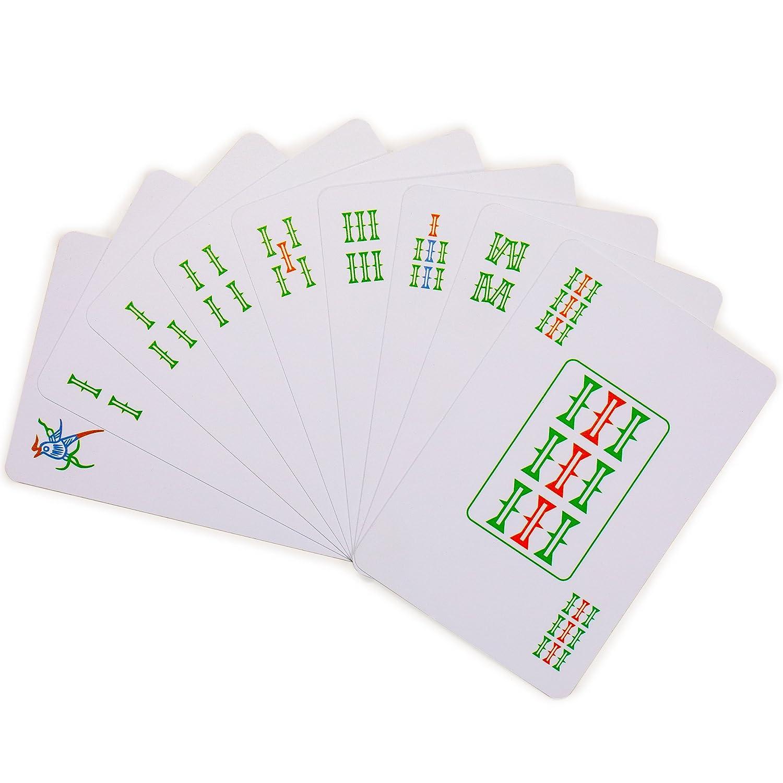 Playing Cards 144 Cards Mah Jong, Mahjongg, Mah-Jongg, Mah Jongg, Majiang Yellow Mountain Imports Chinese Mahjong