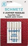 Euro-Notions pelle-Aghi per macchina da cucire, misura 16/100/Pkg 5, altri