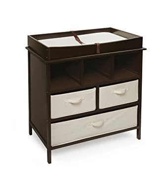 Exceptionnel Badger Basket Company Estate Baby Changing Table, Espresso