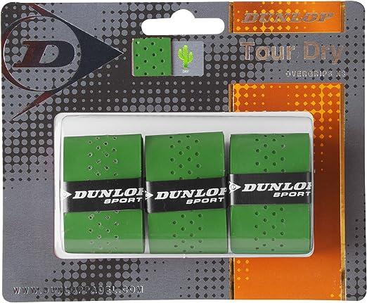 DUNLOP Tour Dry - Blister de 3 Unidades overgrip, Color Verde ...