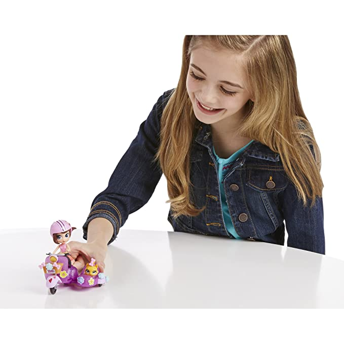 Amazon.com: Littlest Pet Shop lugares to go, mascotas para ...