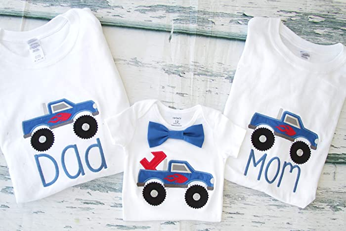 Amazon Family Birthday Shirts Mom And Dad Matching First