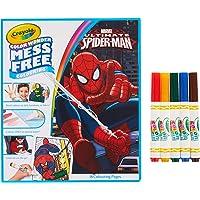 Crayola 752412 Color Wonder Mess Free Coloring Spiderman Coloring Set (18 Piece)