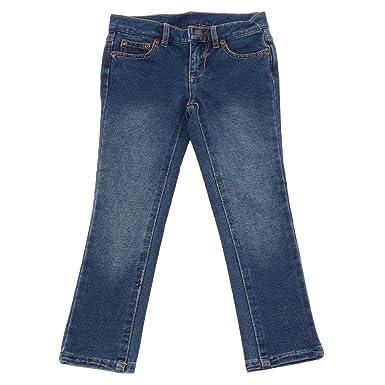 67c76b12c9ae70 Ralph Lauren 9682U Jeans Bimba blu Jegging Denim Pant Kid  4 Years ...
