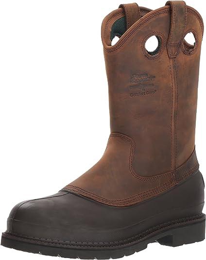 Georgia Men's Pull-On Mud Dog Steel Toe