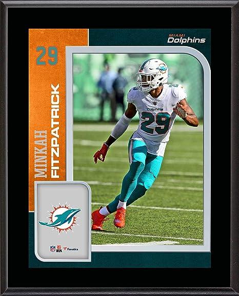newest f03b6 d9ccd Amazon.com: Minkah Fitzpatrick Miami Dolphins 10.5