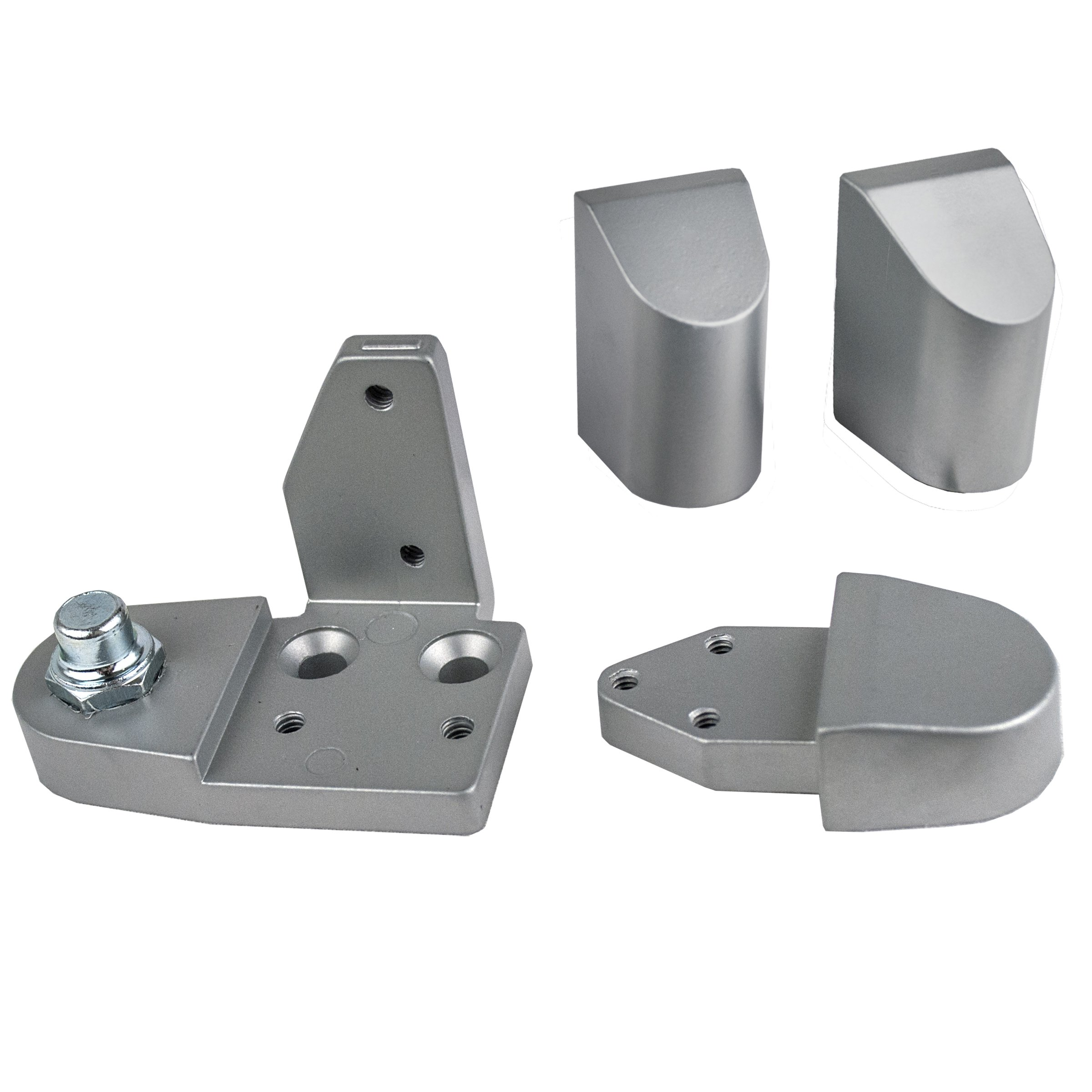 Global Door Controls Aluminum Amarlite Style Right Hand Offset Pivot