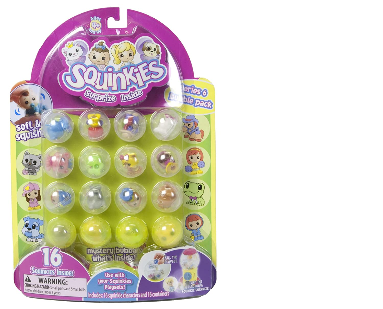Squinkies Bubble Pack Series Six