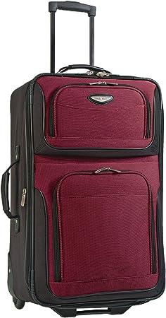 Traveler's Choice Expandable Rolling Upright Luggage