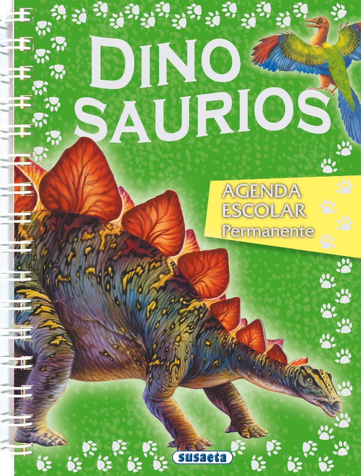 Agenda escolar permanente dinosaurios Agenda Dinosaurios ...