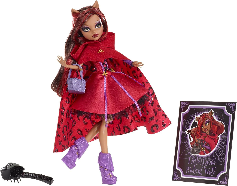 Monster High - Muñeca Fairytale Rotwölfchen (Mattel X4485): Amazon.es: Electrónica