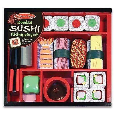 Melissa & Doug Sushi Slicing Play Set: Melissa & Doug: Toys & Games