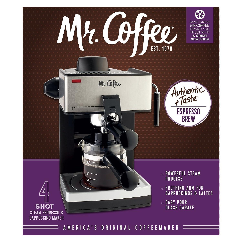 Amazon Mr Coffee 4 Cup Steam Espresso System with Milk