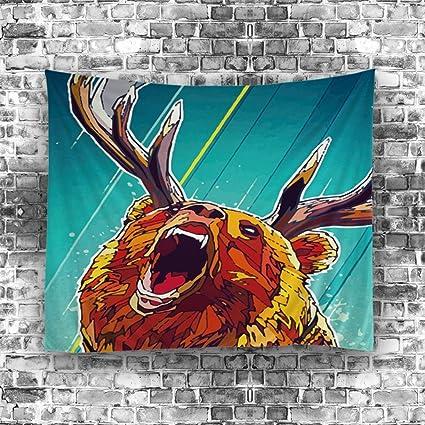ouliu Animal impresa toalla de playa india Hippie arte de pared decoración del hogar diseño psicodélico