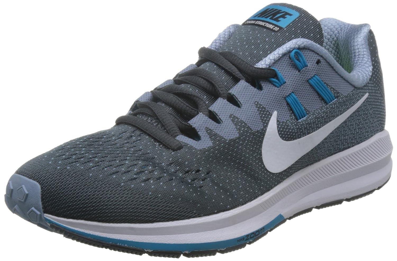 Nike 849576-001, Zapatillas de Trail Running para Hombre 39 EU Gris (Dark Grey / White / Blue Grey / Blue Lagoon)
