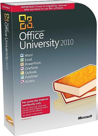 Microsoft Office University 2010 32/64-bit, Service Pack 1 ...