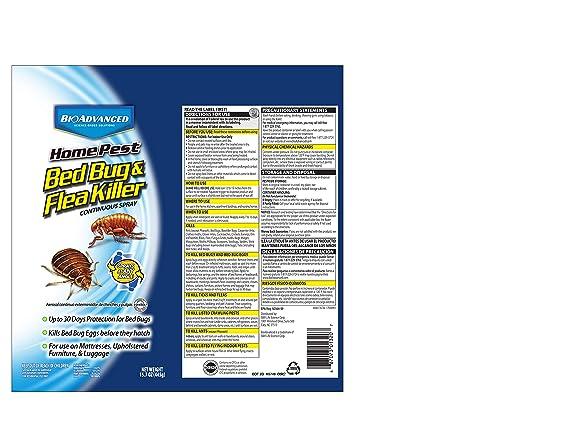 Bayer Advanced 701320 hogar Pest cama Bug y pulgas KILLER SPRAY continuo, 15.7-ounce: Amazon.es: Jardín