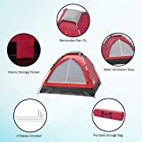 2-Person Tent, Dome Tents for Camping with Carry