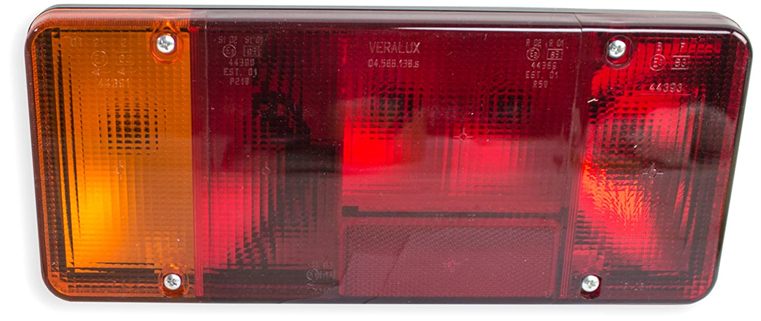 TarosTrade 41-0544-L-5734 Tail Light For Open Carrier E-Mark