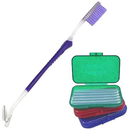 Cera de silicona Orthosil 3 y 1 cepillo de dientes de ortodoncia ...