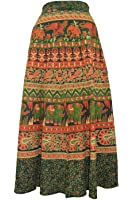 Amber Women's Skirt (PMSWRP51__Multi Color_Free Size)