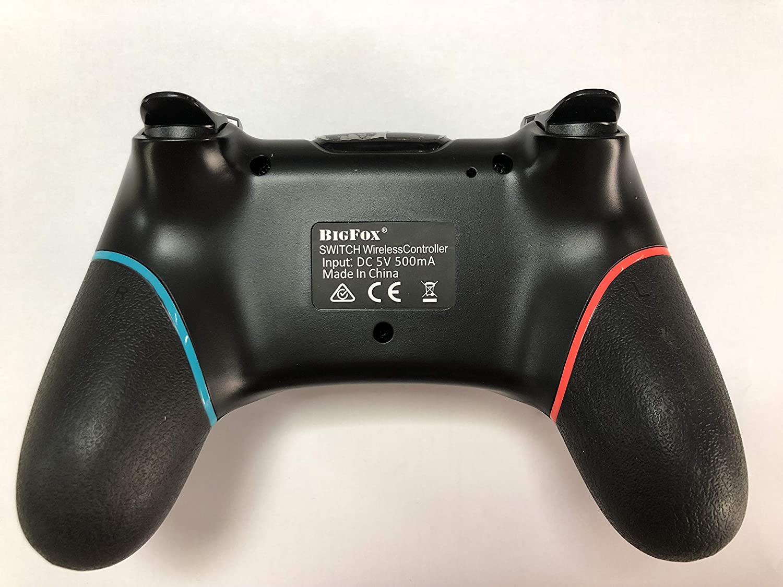 BIGFOX Mando Inalámbrico para Nintendo Switch, Wireless Pro Switch Controller Controlador Bluetooth Gamepad 7.0.1 con Gyro Axis Dual Shock Vibration ...