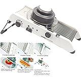 YaeTek Adjustable Mandoline Slicer Kitchen Stainless Steel Manual Cutter Shredder Julienne for Slicing Food Fruit Vegetables
