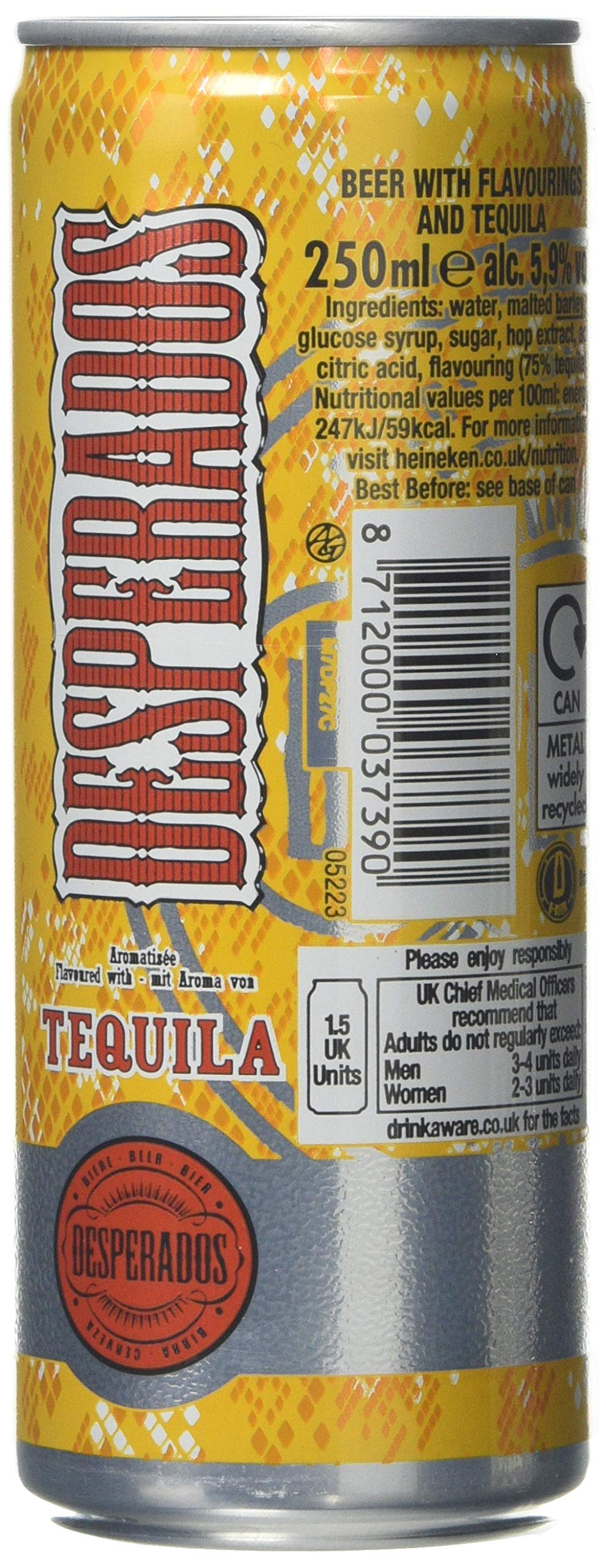 Desperados Cans 24 X 500ml Buy Online In El Salvador Desperados Products In El Salvador See Prices Reviews And Free Delivery Over Us 70 00 Desertcart