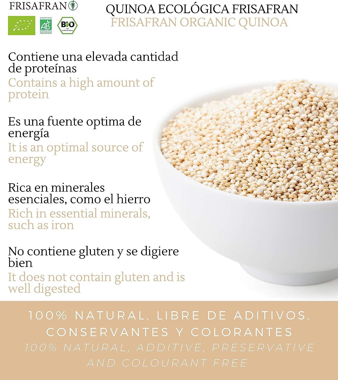 FRISAFRAN - Quinoa Ecológica - 1Kg: Amazon.es: Alimentación y ...