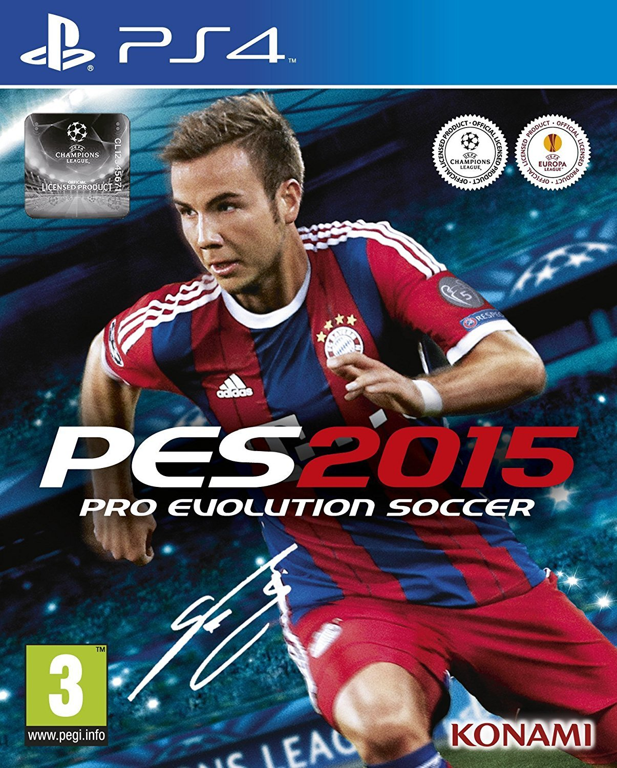 Pro Evolution Soccer 2015 (PS4): Playstation 4: Computer and