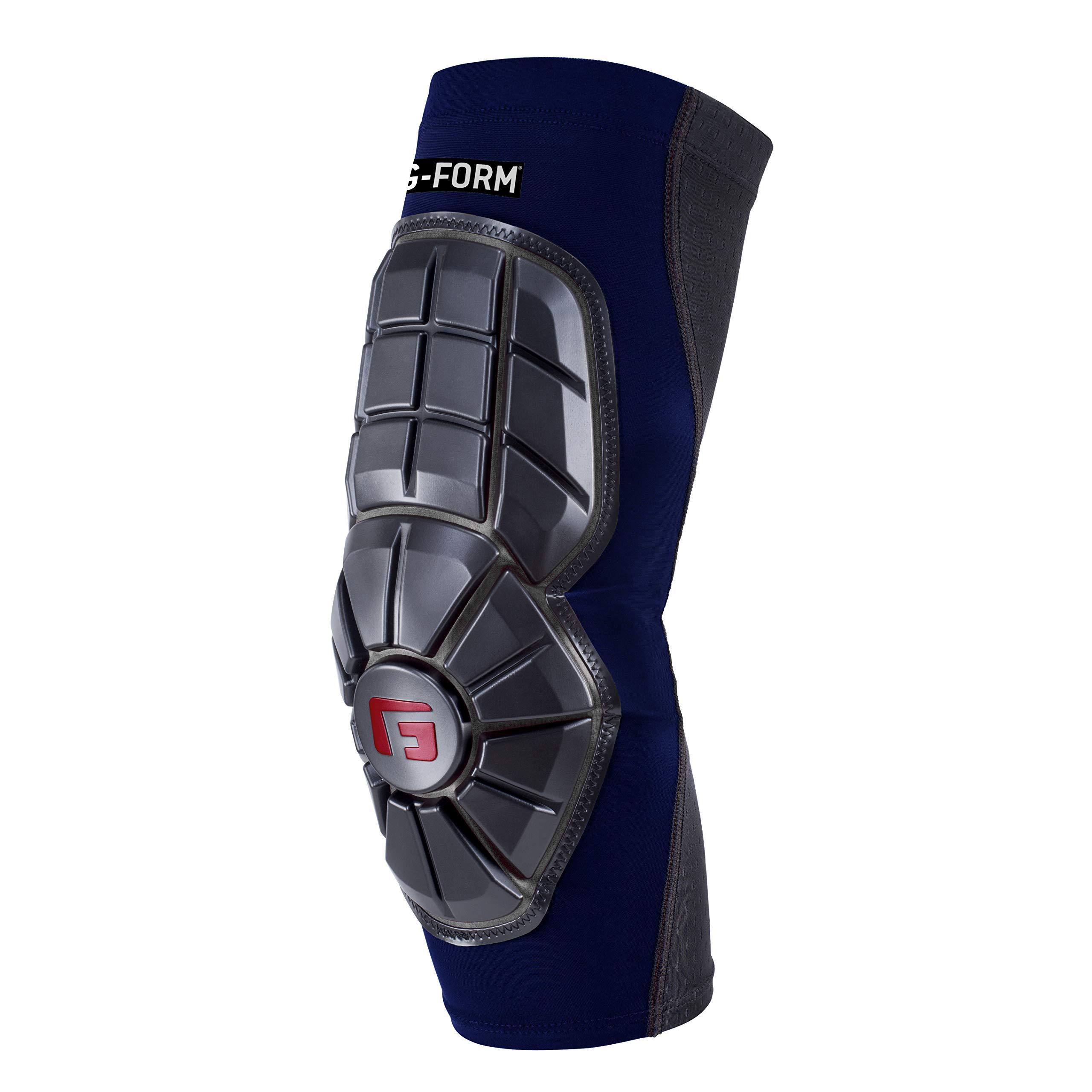 G-Form Pro Extended Elbow Guard, Navy Blue/Black, Adult Medium