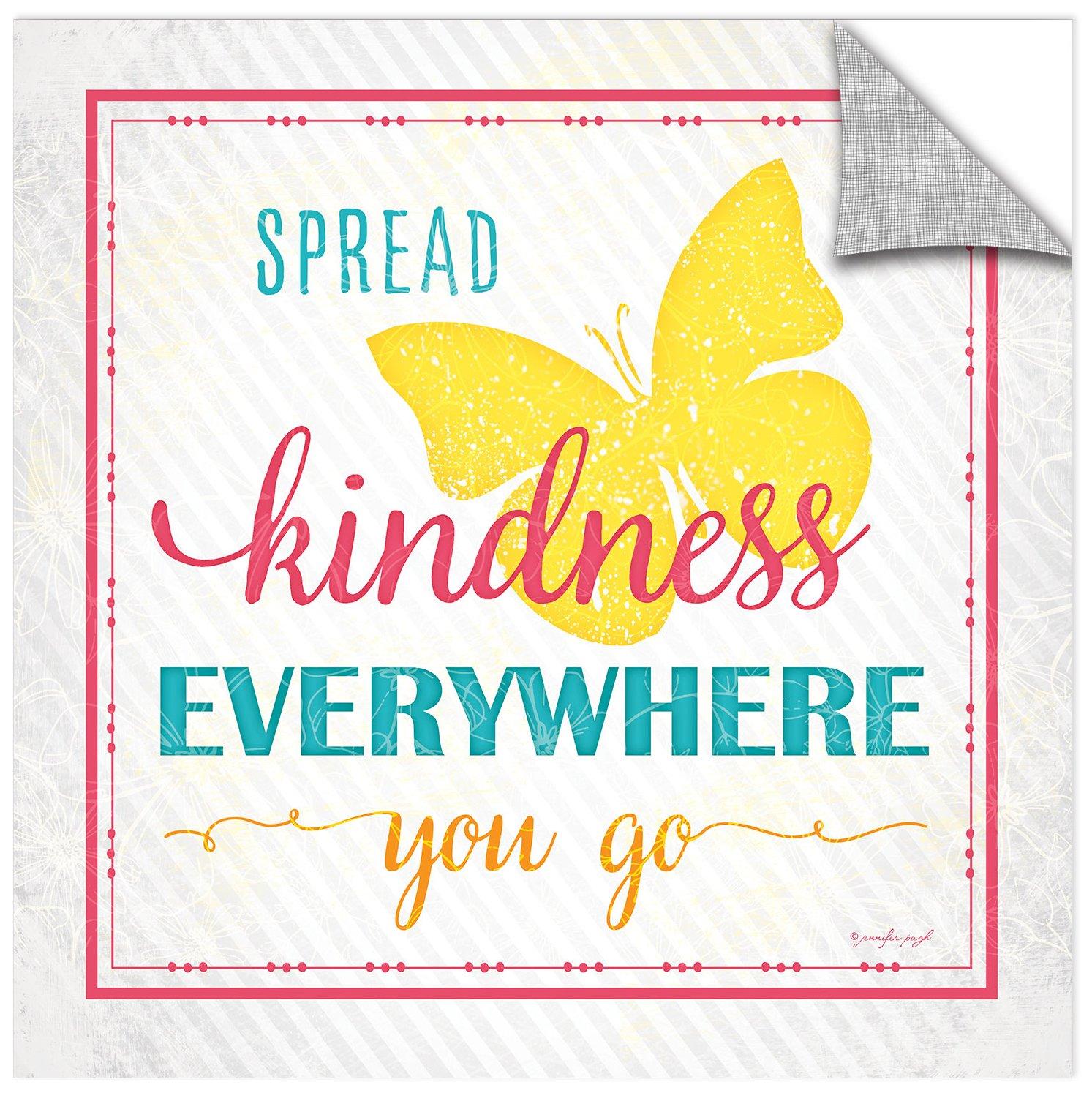 Removable Wall Art Mural 24X24 ArtWall Jennifer Pughs Spread Kindness