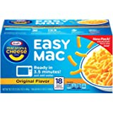 Kraft Easy Mac Macaroni & Cheese Dinner - 18 ct.   (38.7 oz)