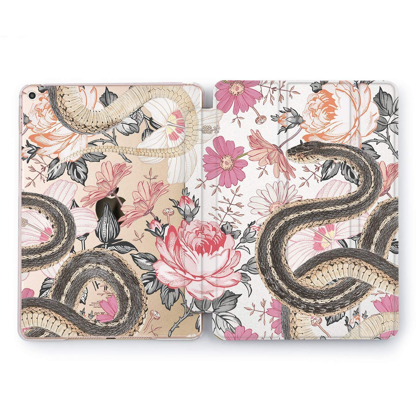 Doodle Sticker Case Smart Cover 9.7 iPad Pro 10.5 Magnetic Mini 4 Pro 12.9 Air