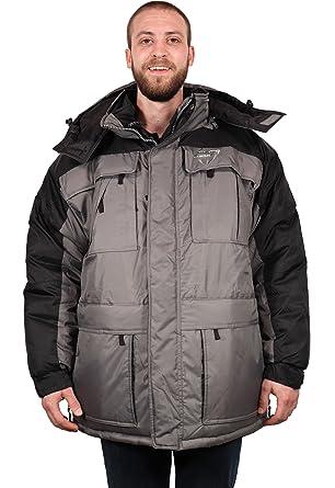 234b9d3b711 Freeze Defense Warm Men s 3in1 Winter Jacket Coat Parka w Vest for ...