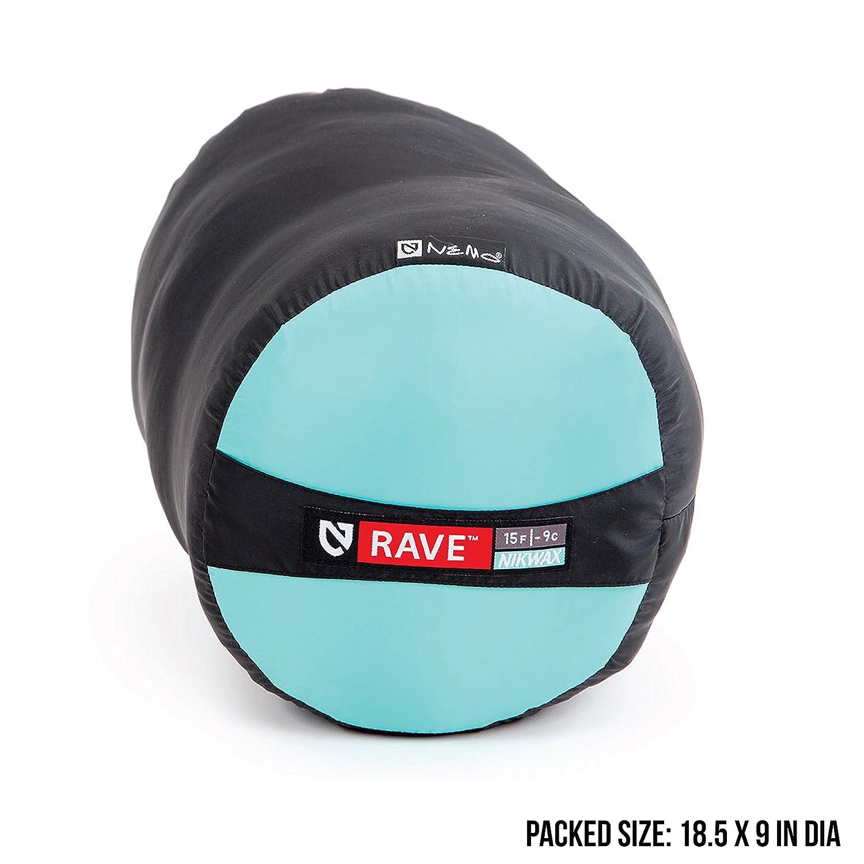 Nemo Womens Rave 15-Degree Insulated Down Sleeping Bag