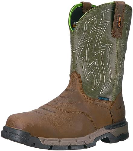 40b89315c9f Ariat Work Men's Rebar Flex Western H2O Work Boot