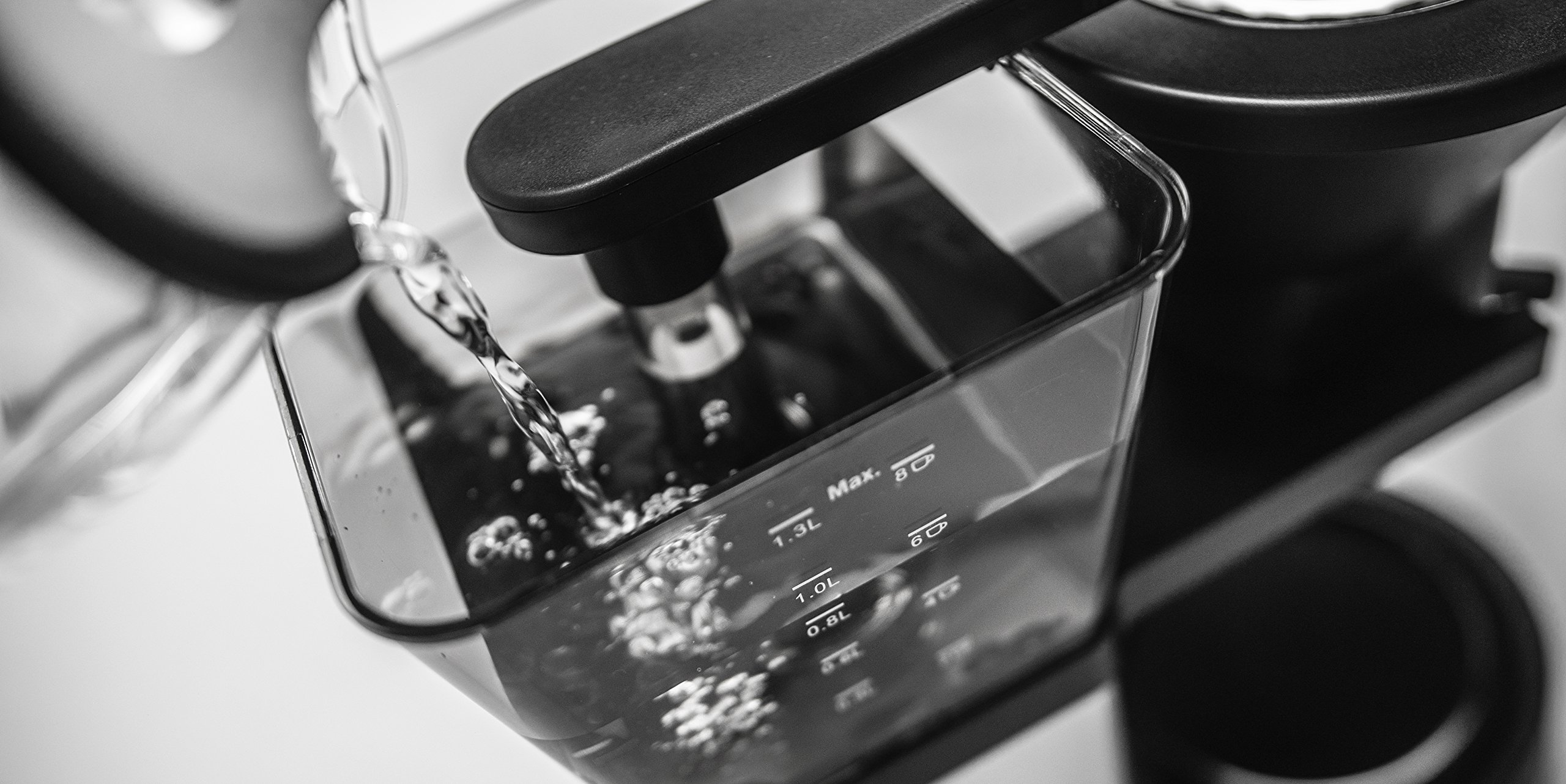 Redline MK1 8 Cup Coffee Brewer with Glass Carafe, Hot Plate and Pre-Infusion Mode by Redline Coffee (Image #6)