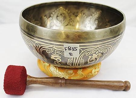 F835/J613 tazón tibetano de canto para curación de chakras y ...