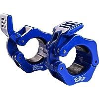 Eihwaz-fitness Haltersluitingen, halterstangen, sluiting voor 50 mm/30 mm lange halterstang, Olympic Bar halterklemmen…