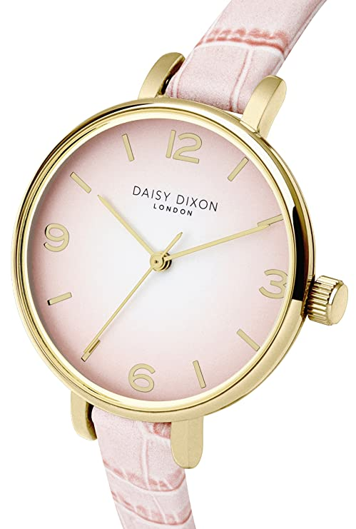 Analog Uhr Damen Dd041pAmazon Daisy Quarz Mit Dixon Leder Armband QroedCBWEx