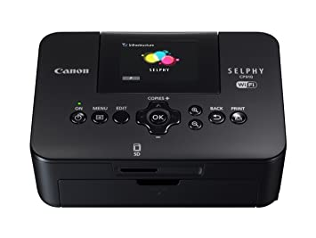 Canon Selphy Cp910 Compact Photo Printer Black Amazoncouk